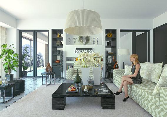 Apartment (Blender + Octane)