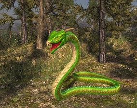 animated 3Dfoin - Fantasy Snake