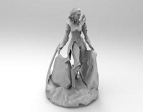 Diana League of Legends 3D print model