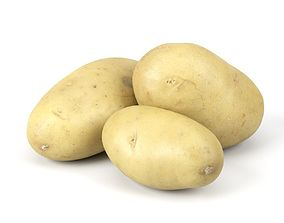 Three Different Photorealistic Potato 3D Scans store