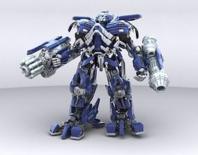3D model Ironhide Robotic Character