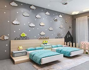 3D model architecture Children Bedroom