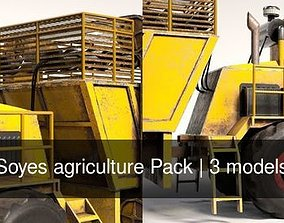 3D Soyes agriculture Pack