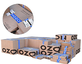 Ozon boxes 3D model