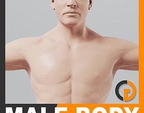 3D model Human Male Body - Anatomy