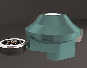 gas regulator low pressure 3D model