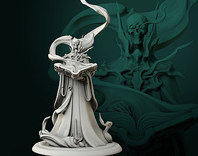 3D print model Lich 32mm pre-supported