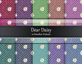 3D model Dear Daisy Fabrics Seamless Textures Set