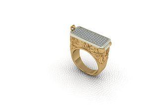 3D print model Secret Compartment Ring casket