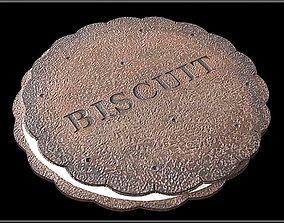 BISCUIT Coaster 3D asset