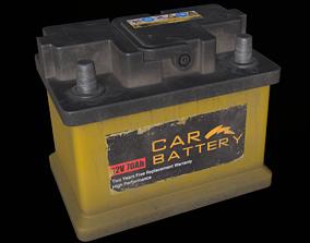 Car Battery 3D asset