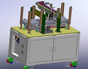 3D Auto stacking loading and unloading machine