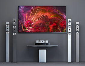 3D Home Theater Samsung HT-F9750W and tv Samsung Frame