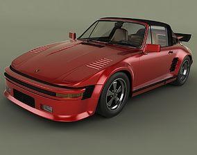3D model Porsche 911 Slantnose Targa