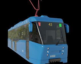 Tram LM-2008 city 3D model
