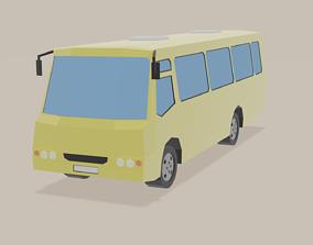 3D model realtime Minibus