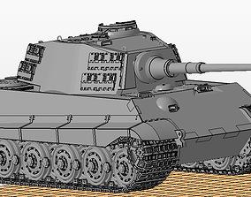 Tiger II Knigstiger tank 3D print model