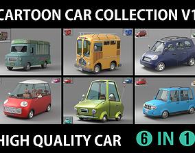 Cartoon Car Collection V1 3D model