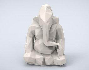Printable Ganesha Lowpoly Style