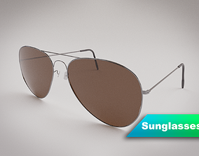 Sunglasses 3D model PBR
