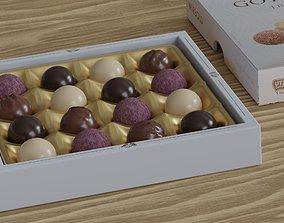 3D model Filled chocolate candies high class