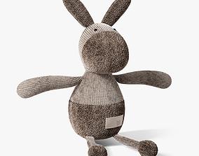 3D donkey toy