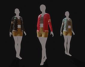 3D Marvelous Designer Clothes - 15 Sweater Outerwear