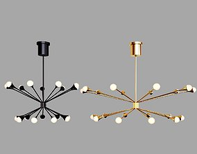 Circa Lody Chandeliers 18 and 20 lights 3D