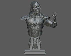 Skeletor Bust 3D printable model