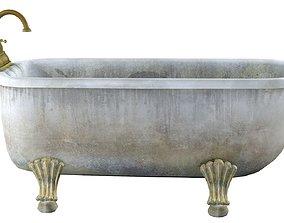 3D model Old bathtub