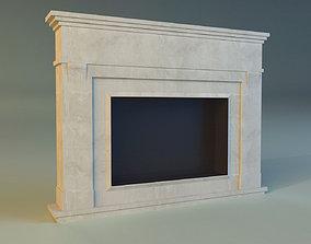 Fireplace 3D model fire hearth