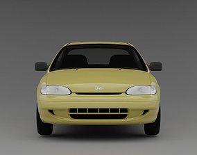 3D model Hyundai Accent 1994