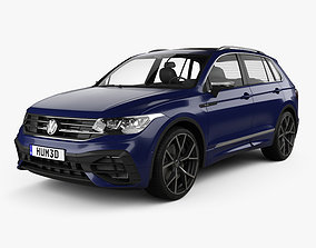 3D model Volkswagen Tiguan 2021
