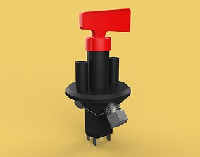 DISCONNECT CUT OFF POWER KILL SWITCH 3D model
