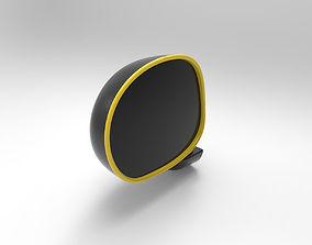 muv Car side view mirror 3D