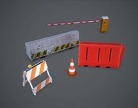 Road asset 3D model