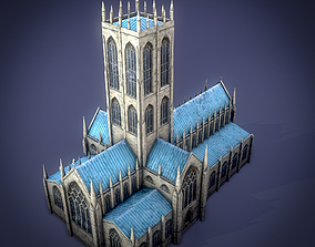 Doncaster Minster Church 3D model
