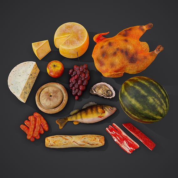 Food Props Pack