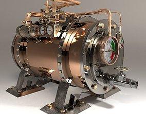 3D model Steampunk Boiler