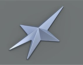 Starfleet Honor pin from Star trek 2013 3D print model