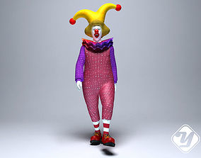 animated Animated Clown for 3ds Max