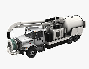Jetter Truck International 7400 3D model