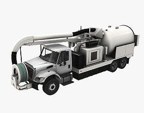 Jetter Truck International 7400 3D asset