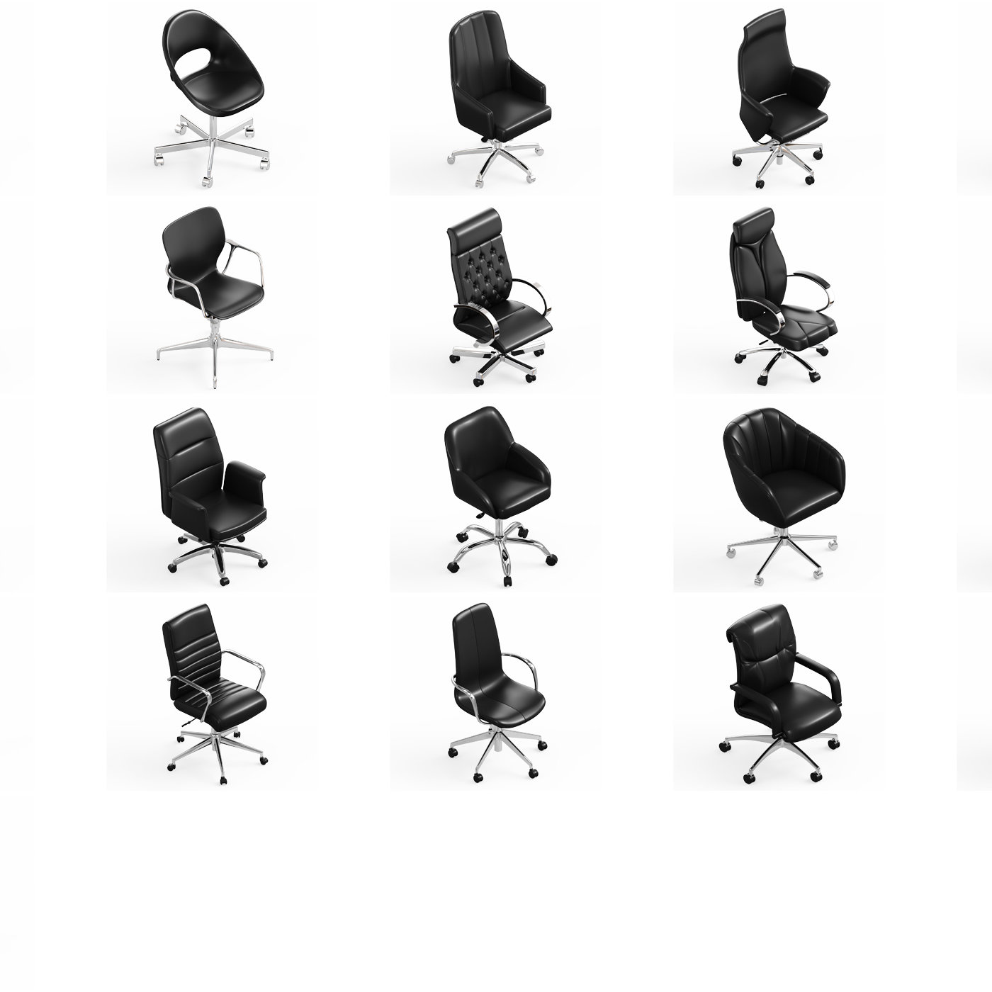 Office Chair Collection 21x
