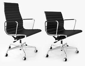 Vitra Aluminium Office Chairs 3D