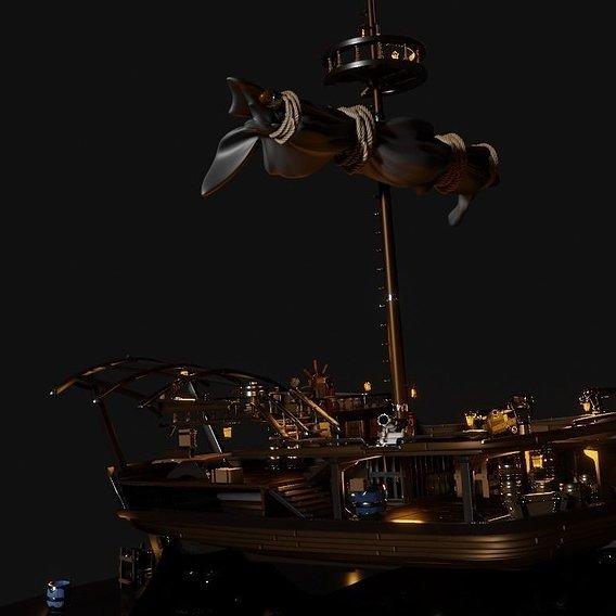 Sail Boat SoT inspired Sloop