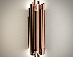 3D Luxurious minimalist wall lamp - Delightfull Brubeck
