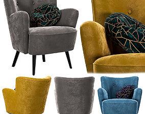 Hound Chair 3D