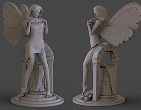 3D printable model Fairy Statue