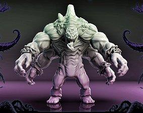Moster 4 hands 3D print model